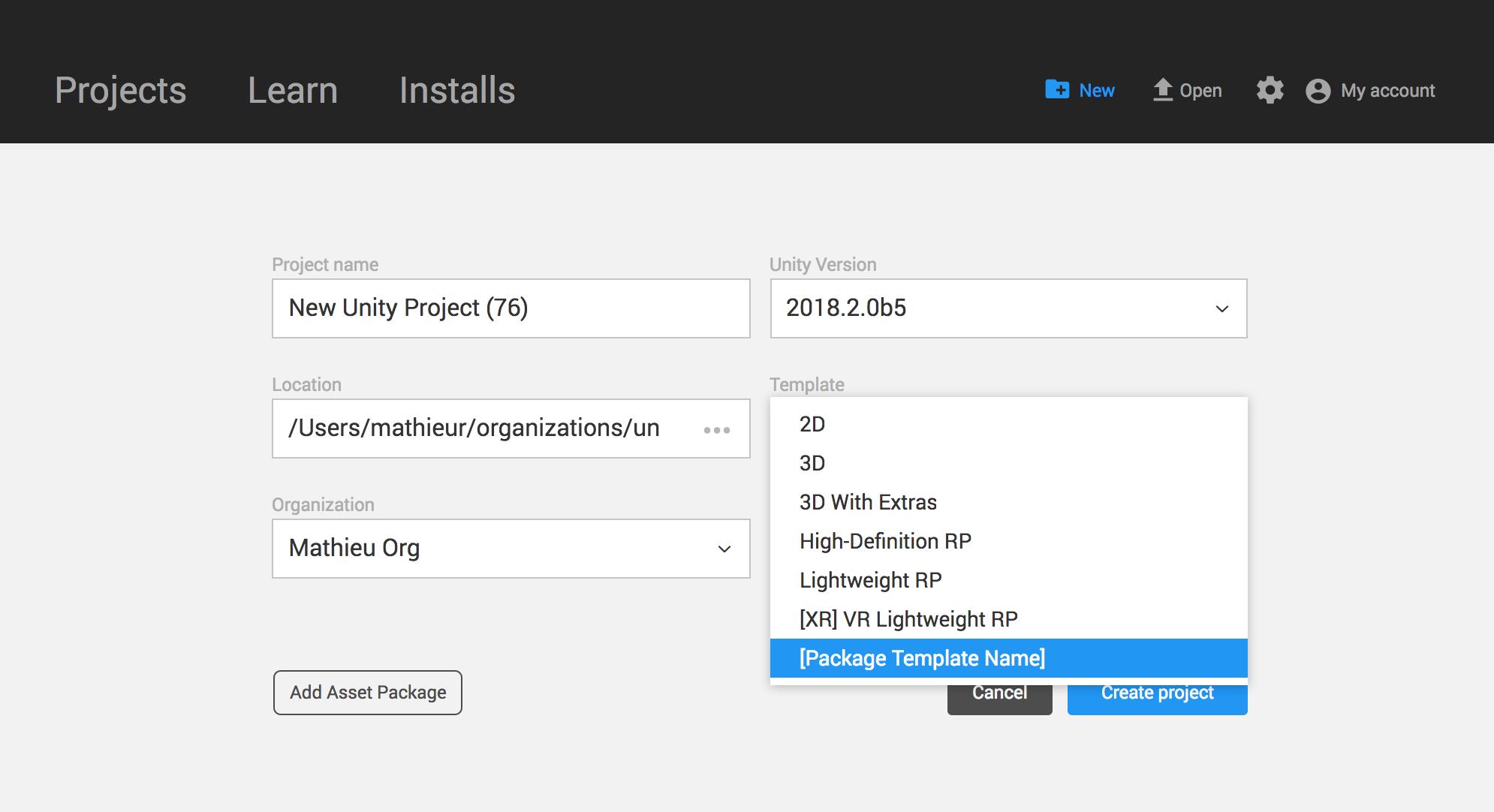 Packages/com.unity.template.renderstreaming/Documentation~/images/template_in_new_project.png